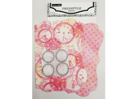 Teresa Collins Freestyle 7x10 Inch Project Kit, Paper Crafting #FR1615 image 4