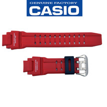 Genuine CASIO G-SHOCK Watch Band Strap GA-1000-4B Original Red Rubber  - $46.46 CAD