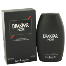Guy Laroche Drakkar Noir 3.4 Oz Eau De Toilette Spray image 1