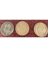 Lot of 3 Italy Centesimi Coins /1862- 1893(2x) - $46.75