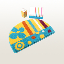 Naomi [Love Music] Beautiful Room Rugs (15.7 by 24.4 inches) - $16.99