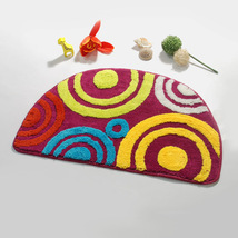 Naomi[Sweet Doughnut]Beautiful Room Rugs 15.7 by 24.8 inches - $16.99
