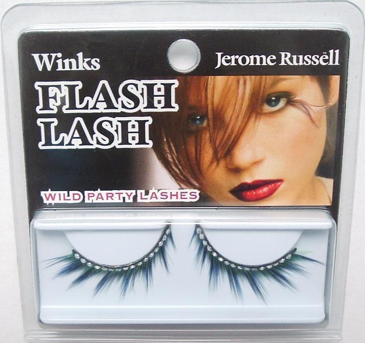 Jerome Russell Winks FLASH False Eyelashes 80's DRAG Bonanza