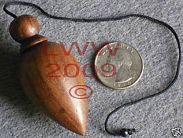 Wooden Scrying Pendulum- Divination Wiccan Pagan NEW - $4.75