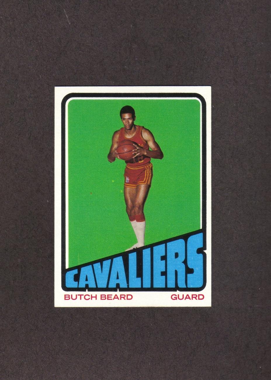 1972-73 Topps # 142 Butch Beard RC Cleveland Cavaliers NM Bonanza
