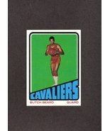 1972-73 Topps # 142 Butch Beard RC Cleveland Cavaliers NM - $1.00