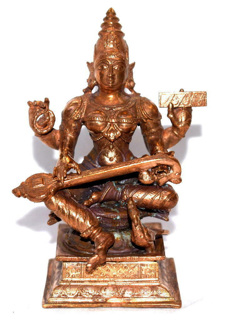 Primary image for Goddess Saraswati In Pure Copper