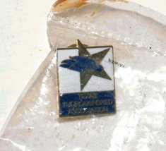 Texas Thoroughbred Association lapel Pin for Ho... - $4.99