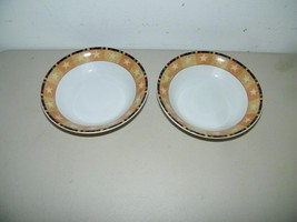 2 Warren Kimble Rooster Bowl Bowls Cereal Soup 14869 - $9.49