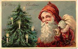 Santa Claus Paul Finkenrath of Berlin vintage 1908 Post Card - $45.00