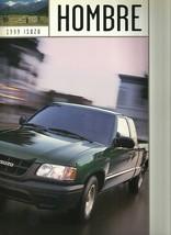 1999 Isuzu HOMBRE sales brochure catalog US 99 S XS S-10 - $8.00