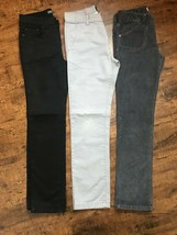 ***3PC Girls Jeans/Pants Lot Sz 10 Straight Leg++ Vince, Place and Old N... - $5.25