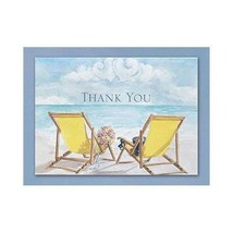 Wedding Thank You Cards Beach Theme Thank You Notes (Pack of 50) - $17.60