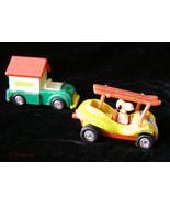 Peanuts Snoopy Aviva Diecast Car Lot Vintage - $18.99