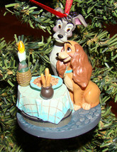 Lady and the Tramp Sketchbook Ornament (Disney, 908336) Spaghetti Dinner - $48.02