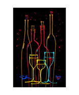 Wine Tasting by Simon Bull, Framed Giclee on Canvas -  NEW - $1,119.99