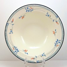 "Noritake Eastfair Vegetable Serving Bowl 9"" Blue and Pink Floral Keltcra... - $44.22"