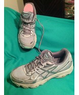 ASICS Gel-VANISHER 8M WOMEN'S RUNNING SHOES MID GREY/CARBON ICE GREEN T7... - $26.92