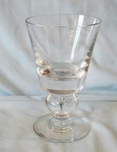 "Val St. Lambert Empire Water Goblet 6"" - $45.43"