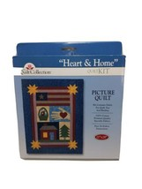 Heart and Home the Quilt Connection quilt kit easy instructions 21 X 28 - $22.76