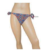Jessica Simpson Women's Swimsuit Bikini Bottom Hipster Tie Side Large Ex... - $4.99