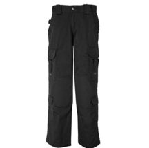 NEW NWT 5.11 Tactical Women's EMS Pants 64301 Black 14 LONG Teflon Finish - $43.71