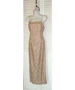 Vtg Lace Gown Dress 12 ETHERAL COUTURE  - $119.00
