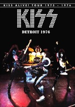 KISS Band ALIVE! Tour 1975 - 1976 Cobo Hall Detroit Stand-Up Display - C... - $15.99