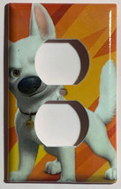 Bolt dog Light Switch Toggle Rocker Power Outlet Wall Cover Plate Home decor image 2