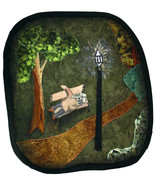The Lamp Post: Quilted Art Wall Hanging - $385.00