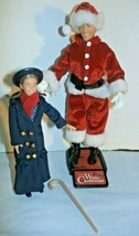 Miracle on 34th Street Poseable Dolls Kris Kringle and the Little Girl l... - $11.88