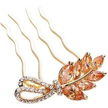 Grain Hair Comb Bride Classical Hair Accessories Dish Hair Headwear(Champagne)