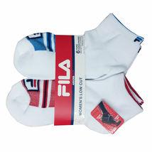 FILA Women's 6 Pack Low Cut Classic Sport Athletic Gym Moisture Control Socks image 8
