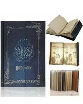 Harry Potter Blue Diary Journal  W Magnet Closure & FREE Sorcerer Stone mini dvd - $14.50
