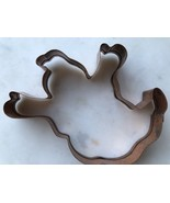 "Copper Ghost Cookie Cutter Measures Approximately  6"" Rolled Edge - $7.29"