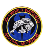 """3"""" AIR FORCE VQ-1 FLEET AIR RECON SQUADRON WORLD WATCHERS EMBROIDERED PATCH - $18.04"""
