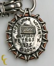 """Petros K.2004 """" Hope pour Femmes """" Argent Sterling .925 Créateur Chaîne à - $1,867.08"""