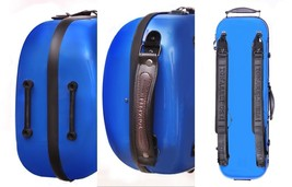 TONARELI Fiberglass Violin 4/4 OBLONG Hard Case - Royal Blue - NEW with ... - $229.00
