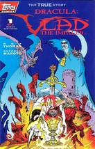 Dracula Vlad The Impaler Complete Comics Set #1-3 R. Thomas E. Maroto NM... - $9.50