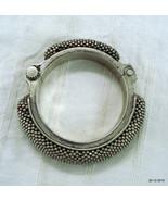 Rare Vintage antique tribal old silver bracelet bangle traditional jewel... - $740.52