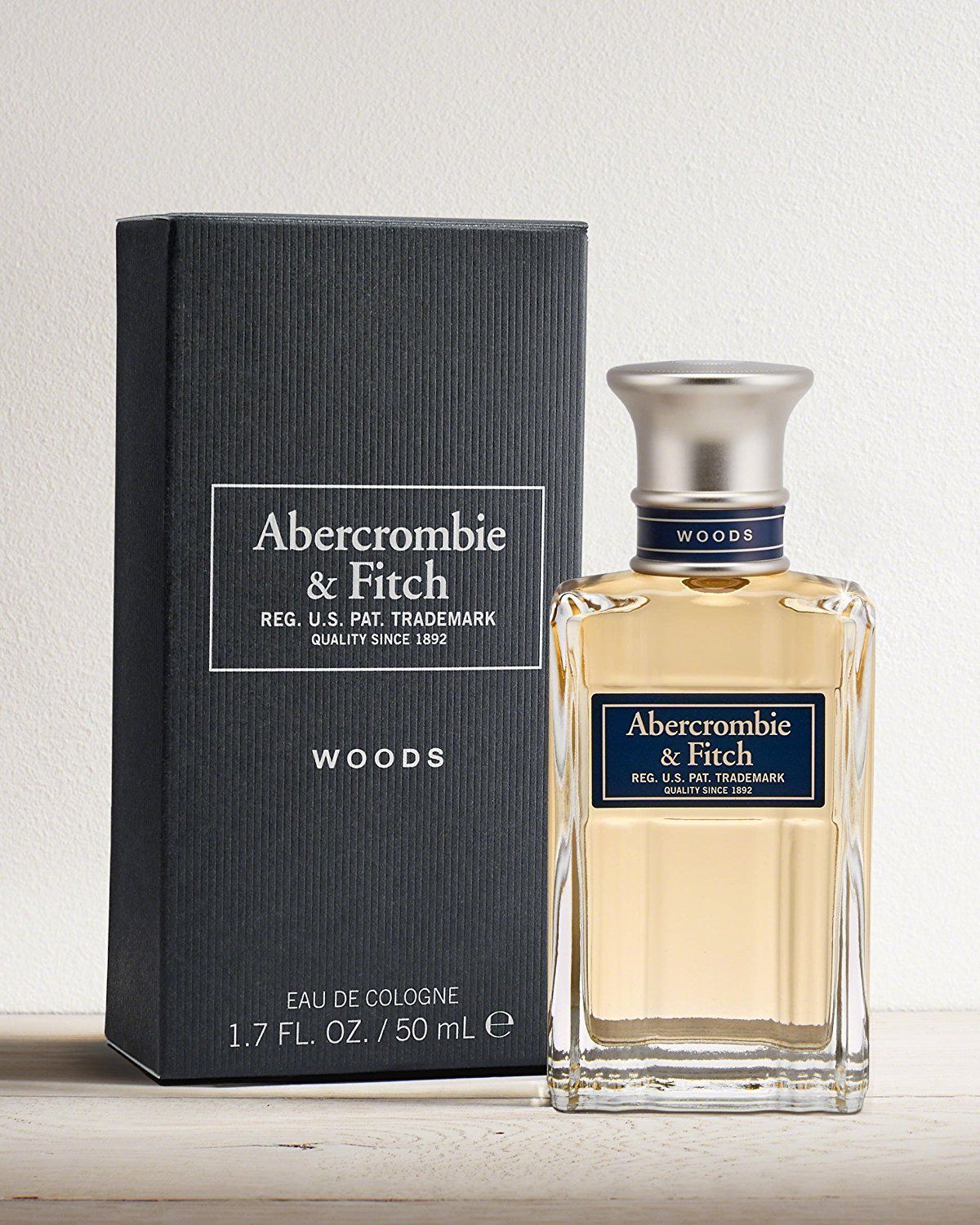 Primary image for Woods by Abercrombie & Fitch 1.7 oz 50 ml EAU DE COLOGNE SPRAY Men's A&F New EDC