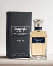 Woods by Abercrombie & Fitch 1.7 oz 50 ml EAU DE COLOGNE SPRAY Men's A&F... - $155.19
