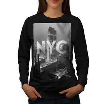 New York City Landmark Jumper America Women Sweatshirt - $18.99