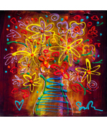 Because We Are In Love by Simon Bull, Framed Giclee on Canvas -  NEW - $1,114.99