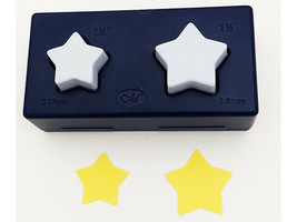 Creative Memories Stars Punch Set, Two Punches in One