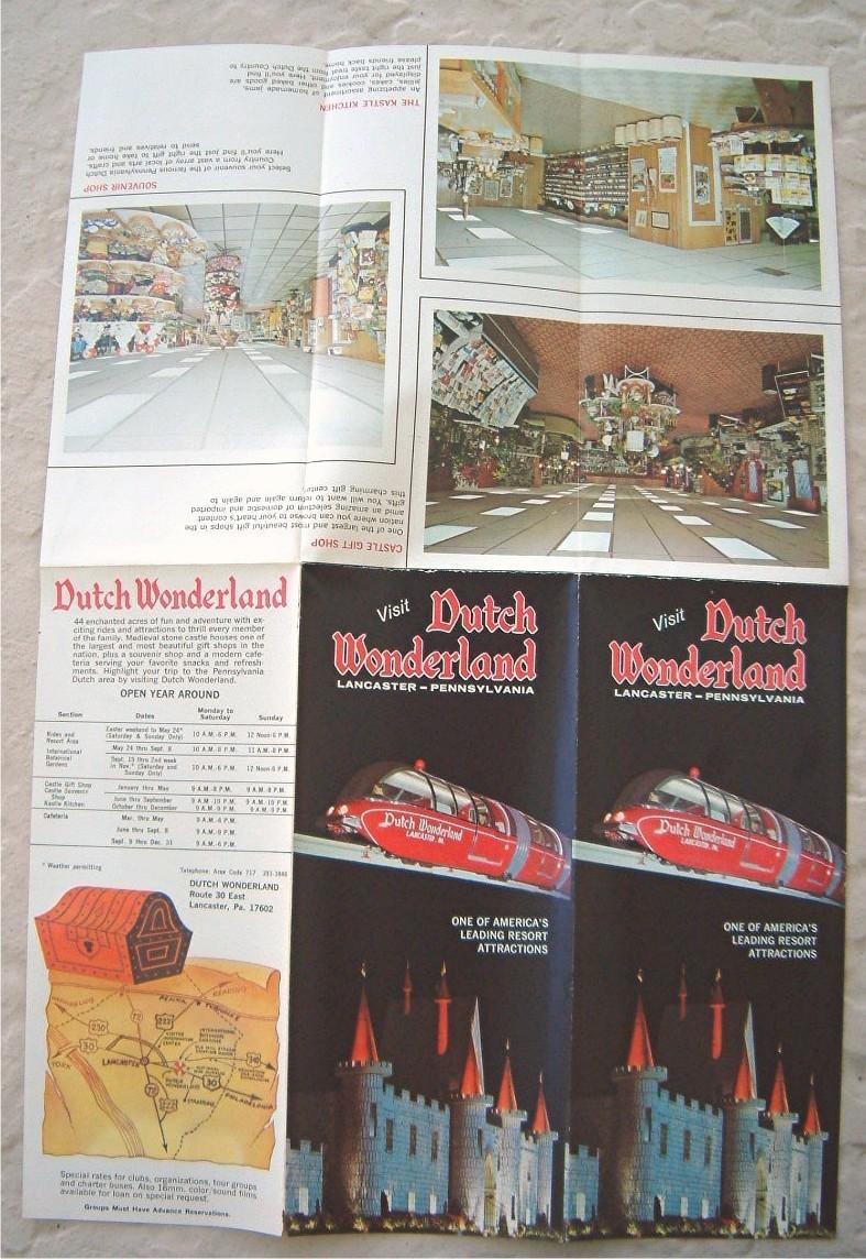 Lot Vintage Pennsylvania Brochures Highway Maps Postcards