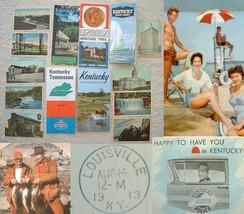 Vintage kentucky brochures and maps postcards thumb200