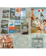 Lot Vintage Kentucky Linen Postcards Highway Ma... - $13.95