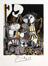 "Pablo Picasso ""Deux Enfants Assis"" 1982 - Limit... - $50.00"