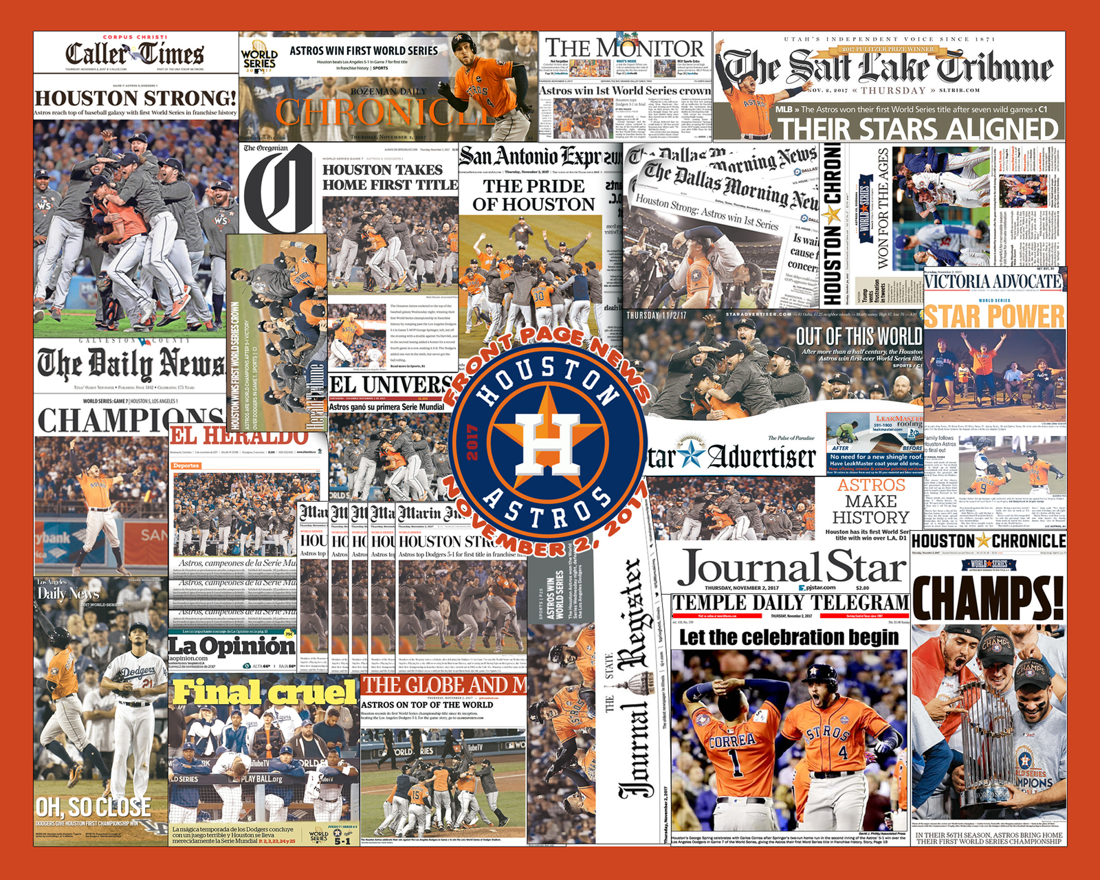 Astros 2017 collage 8x10